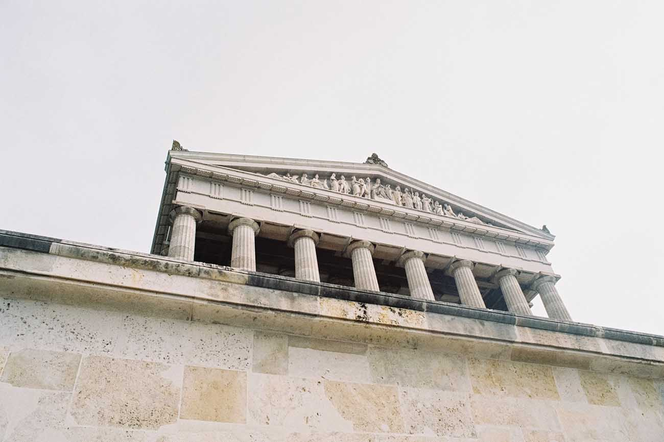court house with doric columns